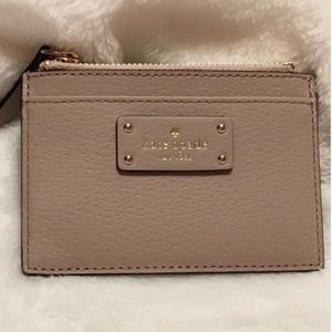 kate spade card case wallet NEW with tag